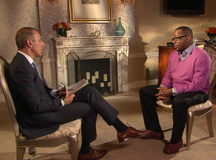 Matt Lauer, Bobby Brown, The Today Show