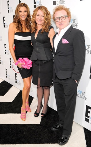 E! Upfront, Heather McDonald, Sarah Colonna, Brad Wollack