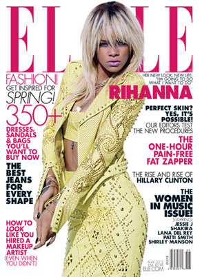 Elle Magazine, Rihanna