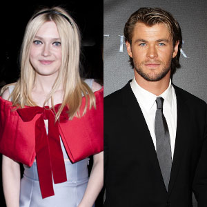 Dakota Fanning, Chris Hemsworth