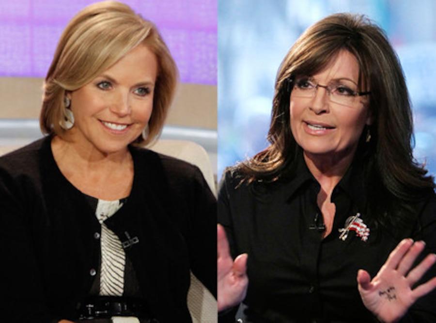 Sarah Palin, Katie Couric