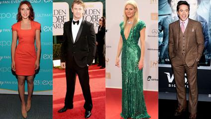 Scarlett Johansson, Chris Hemsworth, Gwyneth Paltrow, Robert Downey Jr.