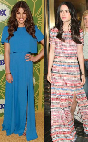 Lea Michele, Lily Collins