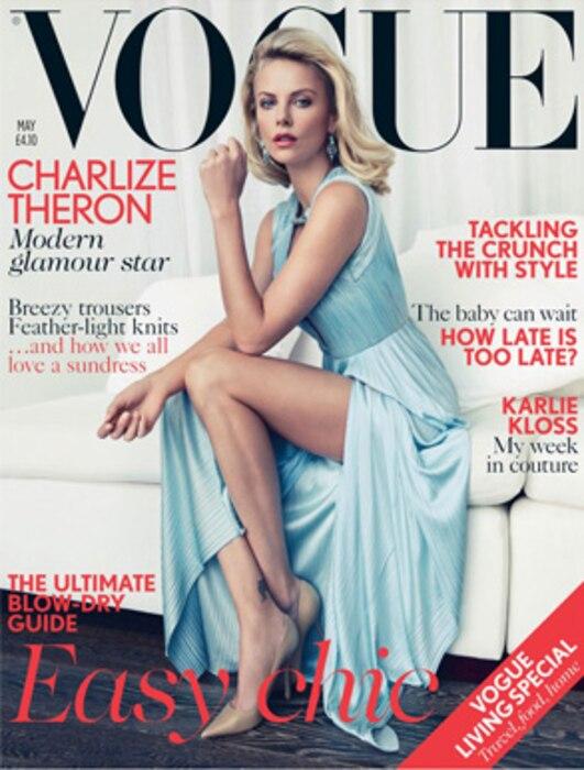 Charlize Theron, Vogue UK