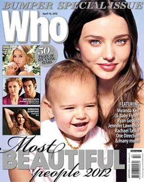 Miranda Kerr, Flynn, Who Magazine