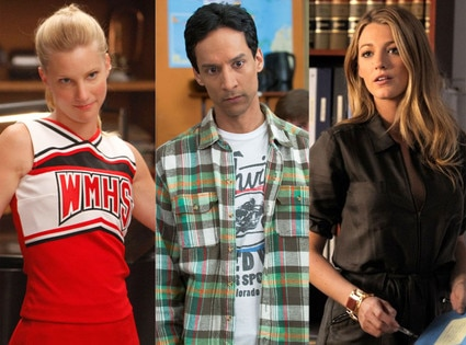 Heather Morris, Glee, Danny Pudi, Community, Blake Lively, Gossip Girl