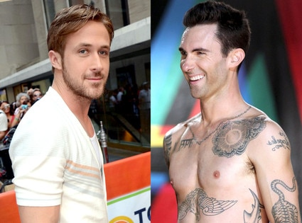 Ryan Gosling, Adam Levine