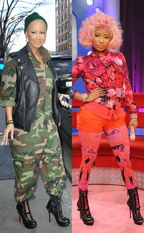Amber Rose, Nicki Minaj