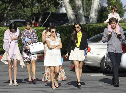 Kim Kardashian, Kourtney Kardashian, Kris Jenner, Bruce Jenner, Mason Disick, Kendall Jenner, Kylie Jenner