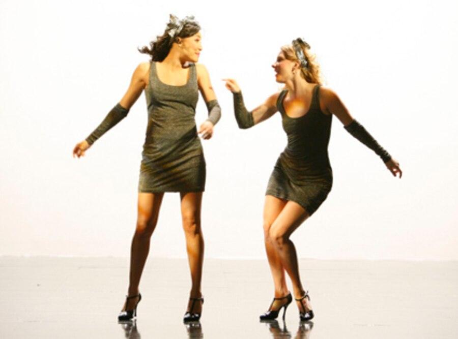 Naya Rivera, Heather Morris, Glee