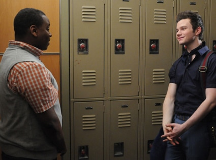 Alex Newell, Chris Colfer, Glee