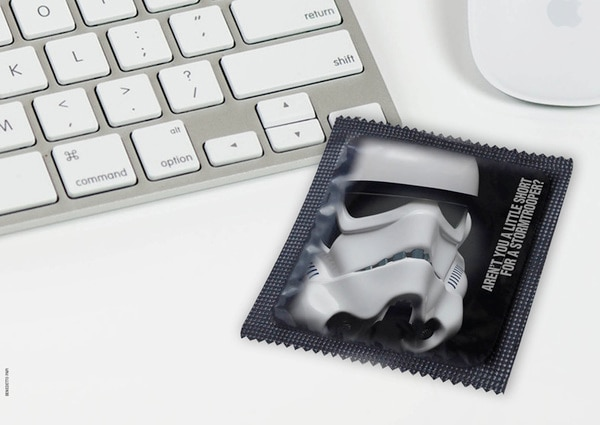 The Soup Star Wars Condoms