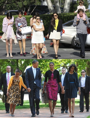 Kardashian Family, Obama Family