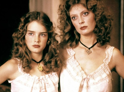 Pretty Baby, Susan Sarandon, Brooke Shields