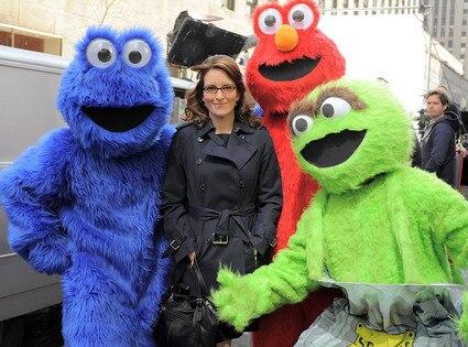 Tina Fey, Seasame Street Characters