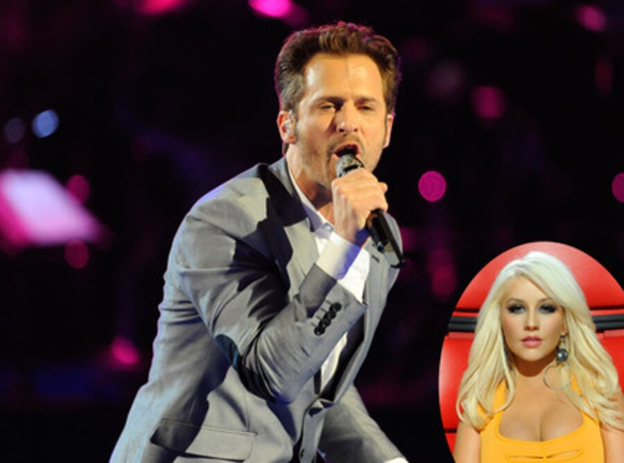 The Voice, Tony Lucca, Christina Aguilera