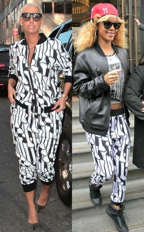 Amber Rose, Rihanna