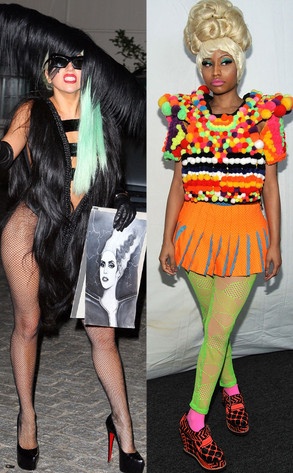 Nicki Minaj, Lady Gaga