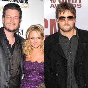 Blake Shelton, Miranda Lambert & Eric Church