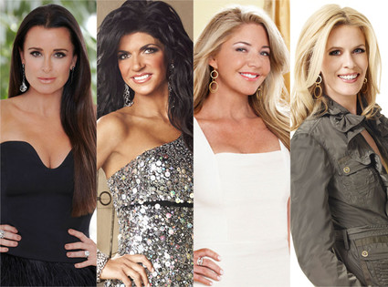 Kyle Richards, Theresa Guidice, Mary Amons, Alex McCord, Real Housewives
