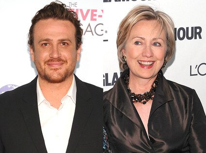 Hillary Clinton, Jason Segel