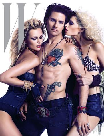 Tom Cruise, W Magazine