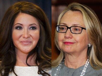 Bristol Palin, Hillary Clinton