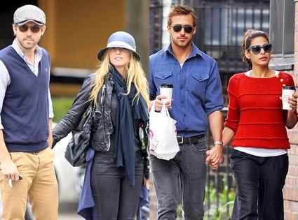 Blake Lively & Ryan Reynolds, Eva Mendes & Ryan Gosling