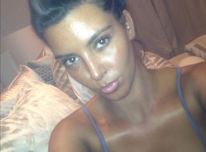kim kardashian s weekend tan check it out e news