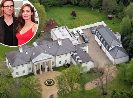 Brad Pitt And Angelina Jolie Rent Palatial Home In England