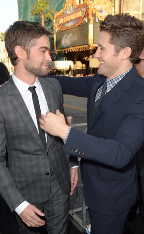 Chace Crawford, Matthew Morrison, What to Expect Premiere