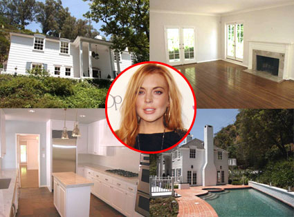 Lindsay Lohan Los Angeles Rental Home