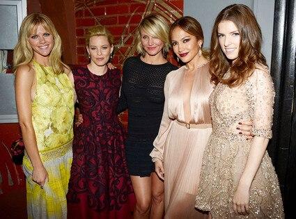 Brooklyn Decker, Elizabeth Banks, Cameron Diaz, Jennifer Lopez, Anna Kendrick