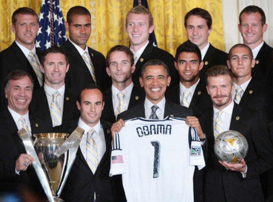 Barack Obama, David Beckham