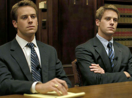 Armie Hammer, The Social Network