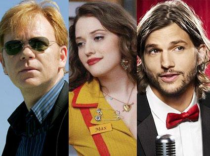 David Caruso, Kat Dennings, Ashton Kutcher