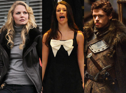 Jennifer Morrison, Once Upon a Time, Richard Madden, Game of Thrones, Lea Michele, Glee