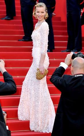 Eva Herzigova, Cannes Film Festival