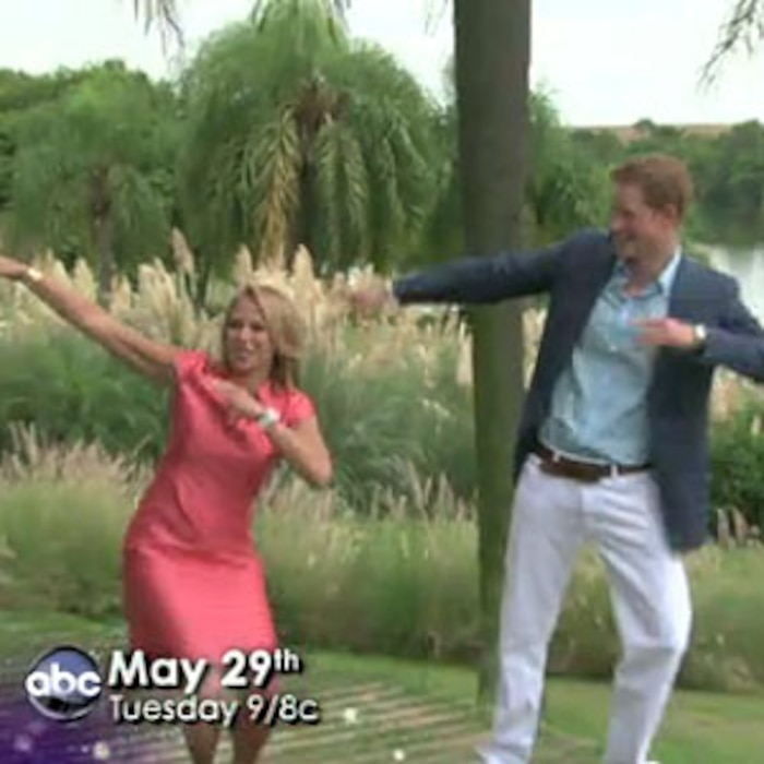 Katie Couric, Prince Harry