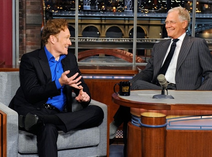 Conan O'Brien, David Letterman