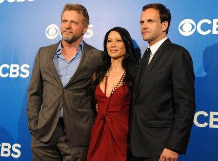 CBS Upfronts, Aidan Quinn, Lucy Liu, Jonny Lee Miller