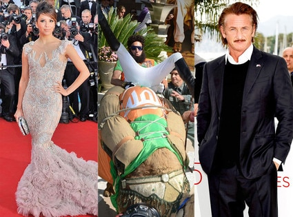 Eva Longoria, Sacha Baron Cohen, Sean Penn, Cannes Film Festival