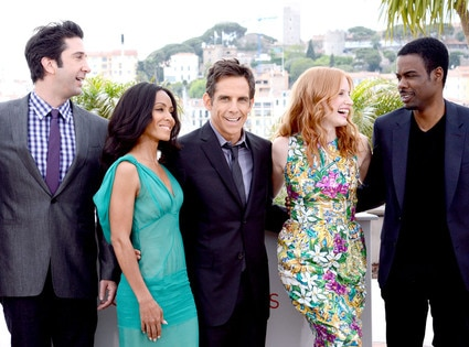 David Schwimmer, Jada Pinkett Smith, Ben Stiller, Jessica Chastain, Chris Rock, Cannes film festival