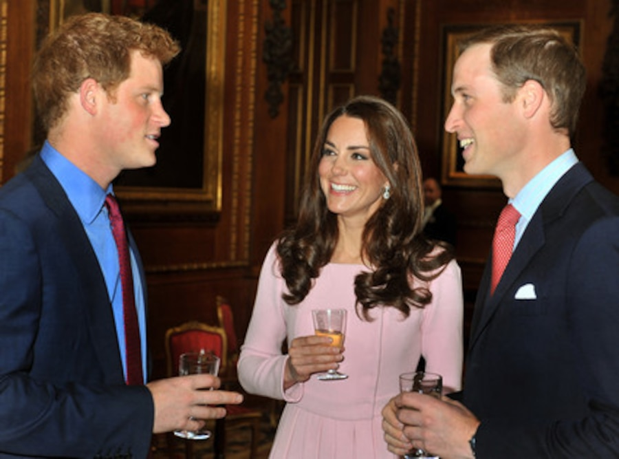 Prince Harry, Duchess Catherine, Kate Middleton, Prince William