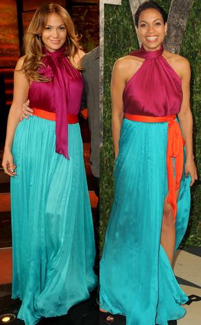 Jennifer Lopez, Rosario Dawson
