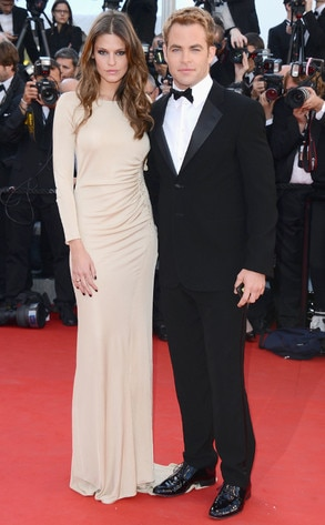 Chris Pine, Dominique Piek, Cannes Film Festival