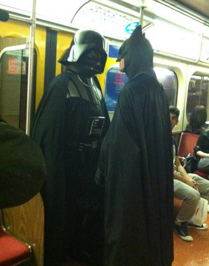 Batman Vs Vader X2