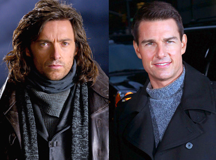 Hugh Jackman, Van Helsing, Tom Cruise