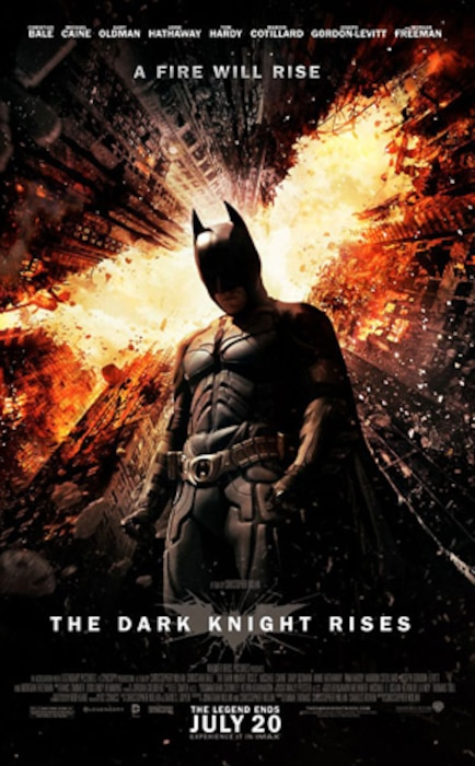The Dark Knight Rises, Poster
