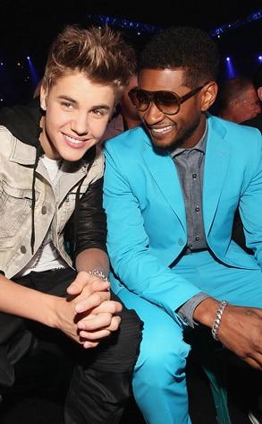 Justin Bieber, Usher